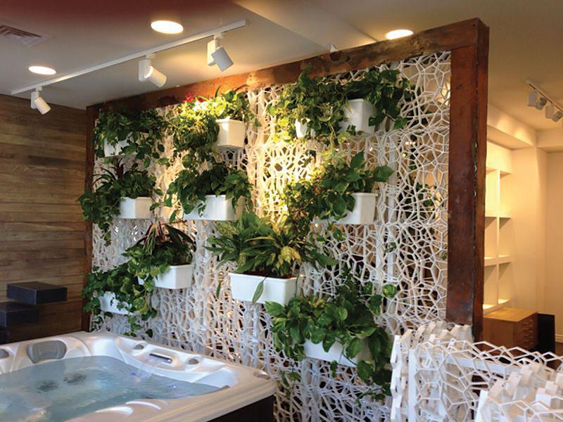 Blog steacom s r l il sistema parete wall y per i for Piante per terrazzi